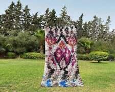 Boucharouite Rug ,Moroccan Berber Rugs,Area Rugs,Handmade 2,6 5,4 feet
