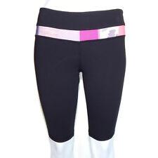 LULULEMON Groovy Run Shorts size 6 TALL Black w/ Purple Pink - INV9265