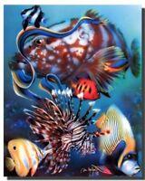 Tropical Fish Underwater Ocean Animal Wall Decor Art Print Poster (16x20)