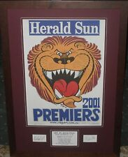 Brisbane 2001 Weg Tribute *Signed*