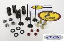 KibbleWhite Black Diamond Valves with Spring Kit and Guides KX 250F 03-06