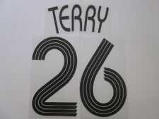 Terry no 26 Chelsea Champions League Football Shirt Name Set Kids Youth