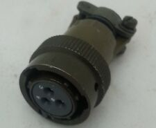 MS3116F123S CONNECTOR PLUG 3 POS STRAIGHT