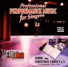 You Can Sing Christmas Carols V. 3 CD