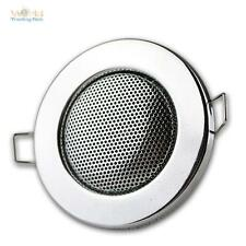 Haut-Parleur,Design Halogène Chrome,Encastré: 60mm,Haut-Parleur Encastrable