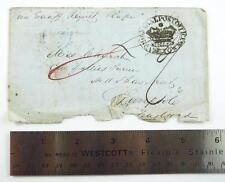 1851 Stampless Ship Letter Cover - Cape Town, South Africa to Liverpool, England