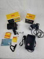 Vintage Kodak Instamatic M5 8MM Movie Camera with Case & Movie Light Untested
