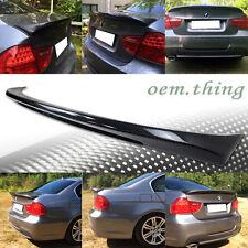 Carbon BMW E90 3-Series 4D Sedan M Tech Trunk Spoiler 11 335i 328i 335d