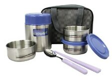 KOREAN Vacuum stainless steel Thermos Thermal Container Food Jar set include bag