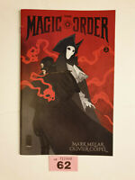 Magic Order #5 C Larson Variant Image Comics VF/NM 1st Print Mark Millar Netflix