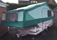 Pennine Pathfinder folding camper trailer tent 6 Berth with plinth heater