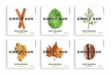 Halloween Candy Simply Gum Assorted Natural Chewing Non Gmo Vegan 6 Packs 90
