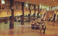Photo 1956 Chicago IL Inside the Greyhound Bus Terminal