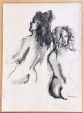 LEONOR FINI (1908-1996) — DESSIN ORIGINAL À LA PLUME (ENCRE & LAVIS) - S.d.