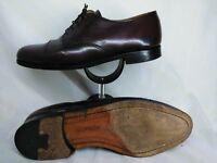 Cole Haan Men Shoes Captoe Oxford  Size 10.5 C Brown Style 8001