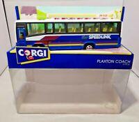 "CORGI 1992 - DIECAST - PLAXTON COACH ""SPEEDLINK"" HEATHROW & GATWICK - 91914"