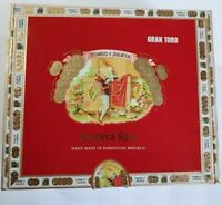 Romeo Y Julieta Reserva Real Gran Toro EMPTY Paper Covered Wood Cigar Box