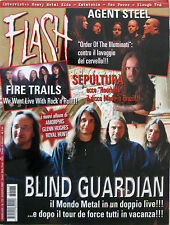 FLASH 173 2003 Blind Guardian Agent Steel Fire Trails Cydonia Sepultura Ritual