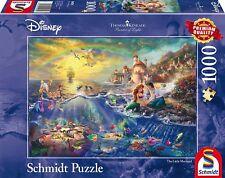 Schmidt Spiele Disney Arielle Puzzle 1000pcs Board Game Child Ages 3 Fun Play