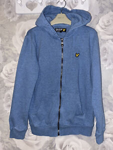 Boys Age 12-13 Years - Lyle & Scott Hooded Zip Up Top