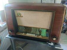 AEG 2073WU vintage tube radio 1953/54 Made in Germany