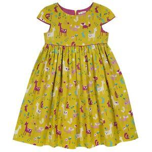 BNWT! Woodland Party Dress. 100% organic cotton. Premium Quality UK Stock.