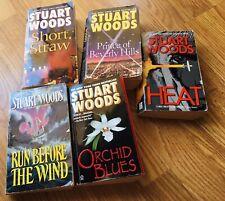 Set Of 5 Stuart Woods Paperback Books