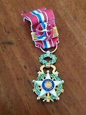 Paraguay - réduction de l'Ordre National du Mérite en vermeil