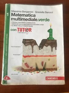 Matematica Multimediale.verde 1 Bergamini ISBN 9788808434685