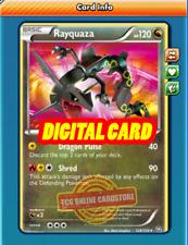 SR Rayquaza SECRET RARE 128/124 for Pokemon TCG Online (PTCGO, Digital Card)