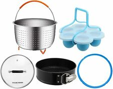 Steamer Accessories Set for InstaPot 5/6 Qt Pressure Cooker Dishwasher 001