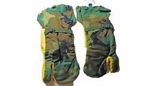 USGI Surplus Woodland Camo Hunting Trigger Gloves Mittens Large L w/ Liners NEW