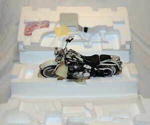 Franklin Mint 1/10 2006 Harley Davidson Softail Deluxe Mint w/Papers 9,990 Made