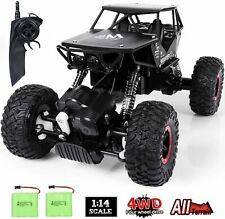 RC Car Toy for Kids, 1:14 Remote Control Car, 4WD Rechargable Off Road Crawler