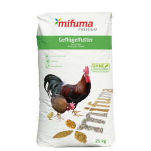 mifuma Junghenne Premium Mehl 25 kg ohne Gentechnik