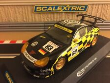 Scalextric Porsche 911 GT3R Rose Island No83 (C2338) New Bar Test Laps