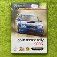 Xbox Classic - Colin Mcrae Rallye 2005 (Complet)
