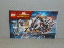 LEGO® Super Heroes Bauanleitung 76109 Quantum Realm Explorers ungelocht B2738