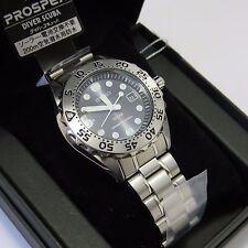 SEIKO SBDN013 PROSPEX Diver Scuba SOLAR Titanium Men's Watch