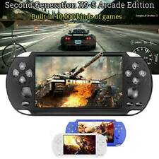 "X9S 8GB 5.1"" Handheld Built-in 10000+ Video Game Console MP3 Player Portable"