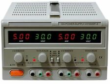 DC Power Supply Variable Triple Output, HY3005F-3, 0-30V, 5A, LED Display