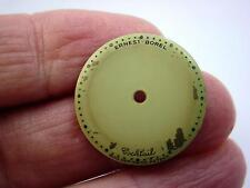 Mens Kaleidoscope Vintage Ernest Borel Watch Dial for Coctail Watch 20mm Cream
