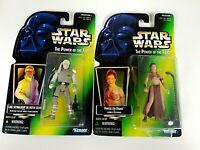 Kenner Star Wars POTF Princess Leia Organa as Jabbas & Luke Skywalker Sealed