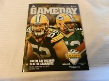 Green Bay Packers Game Day Magazine September 10, 2017 Packers vs. Seahawks