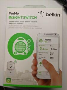 Belkin WeMo Insight Wifi Switch