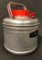 Poloron Featherflite 4.5 Quart Vacucel Foam Insulated Aluminum Water Jug Cooler