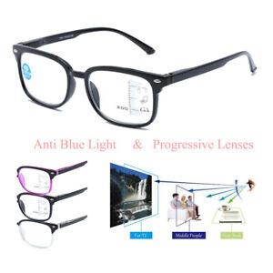 Progressive Reading Glasses Plastic Varifocal Lens +1.00 1.50 2.00 2.50 3.00
