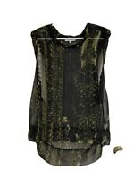 Stylish! IRO Gray  Top In Multicolour, ,Sz 38(10-12), RRP $385, Made In France