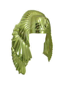 Adult Mens King tut headpiece Egyptian Male Pharoah Headpiece Costume Accessory