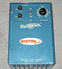 Never Used Boston Gear Model V16 RatioTrol Motor Speed Control with Manual